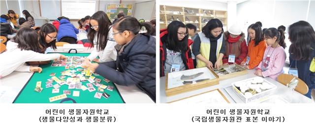 어린이 생물자원학교